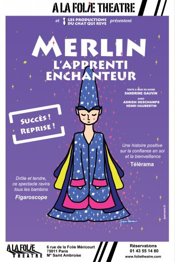 Merlin, l'apprenti enchanteur